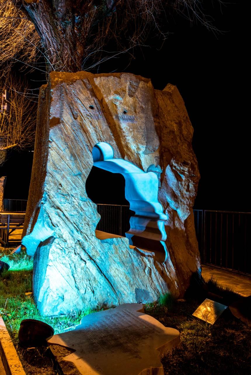 Monumento al motociclista a Casacastalda