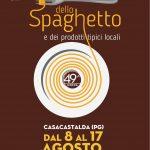 Volantino Sagra dello Spaghetto di Casacastalda 2019 49ma Edizione